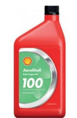 AeroShell Oil W100 SAE Grade 50 Aircraft Oil - Single Quart