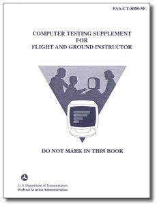 FAA Test Supplement - Flight and Ground Instructor