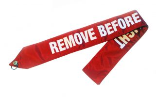 AeroPhoenix Nylon Remove Before Flight Banner