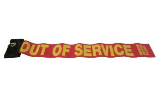 "DeGroff Aviation ""Out of Service"" Streamer"
