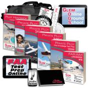 Gleim Deluxe Private Pilot Kit with Online Ground School & Audio Review