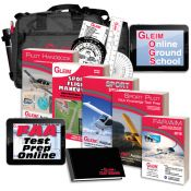 Gleim Deluxe Sport Pilot Kit with Online Ground School