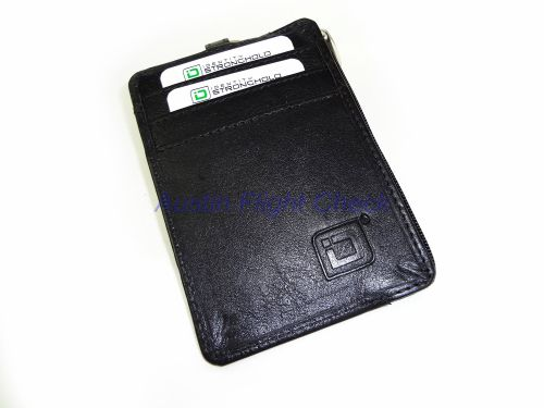 Identity Stronghold RFID Blocking Secure Mini Wallet with Key Ring
