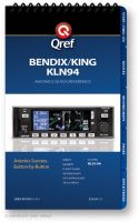 Qref Checklist - Avionics - Bendix King KLN-94, KLN-89B and KLN-90B