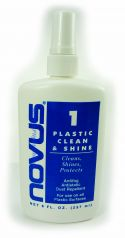 Novus Polish Plastic Clean and Shine - 8 ounce